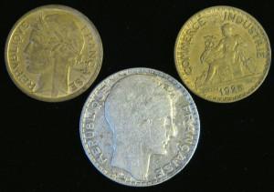 Франки 1925, 1932, 1938