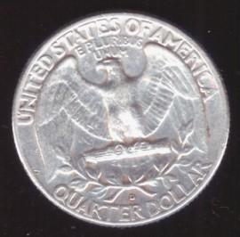 Монета США квотер (25 центов)