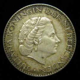 1 гульден Нидерланды 1956 год