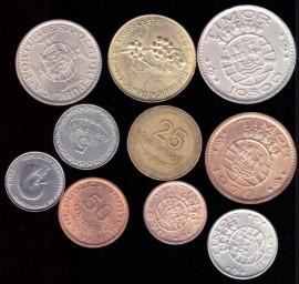 Монеты Тимор