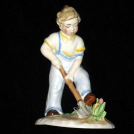 Германия, Мальчик с лопатой