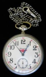 """Часы """"Молния"""" Паровоз"""