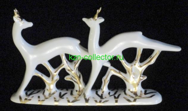 Статуэтка Бегущие олени Вербилки