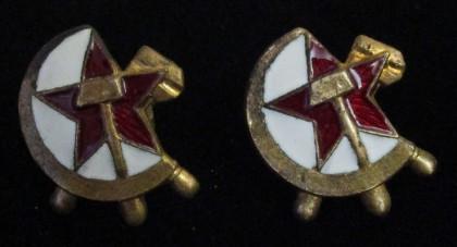 Петличные эмблемы НКПС